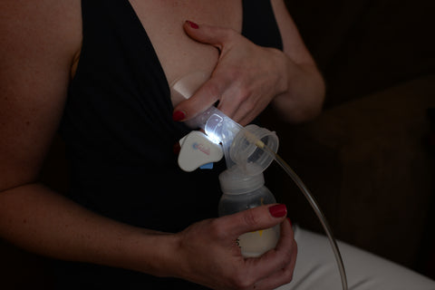 Shed some light on your nighttime pumping sessions with Lactalite. Shop this illuminating accessory through the Cyber Mom Day Gift Guide from BeauGen.