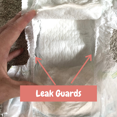 Leak Guards - Everything you need to know about diapers
