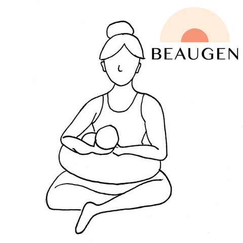 Football Breastfeeding Hold or Position from BeauGen