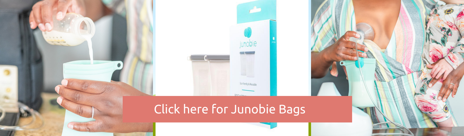 Introducing Junobie Bags: Reusable milk and food storage bags