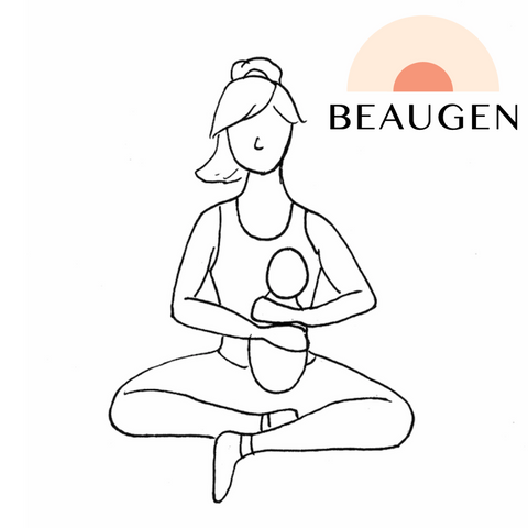 Upright or Koala Breastfeeding Hold or Position from BeauGen