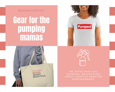 Lifestyle Clothing and Merchandise for Pumping Moms