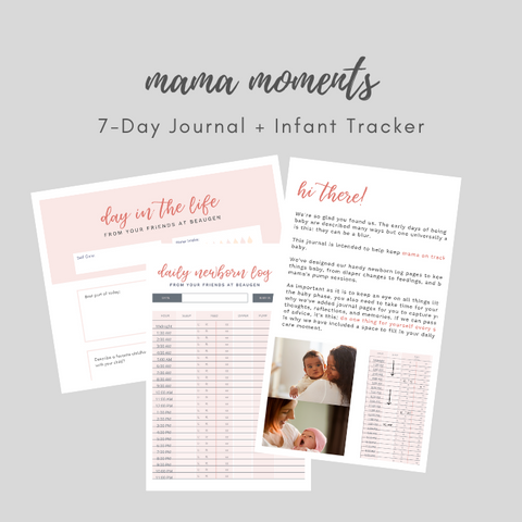mama moments journal