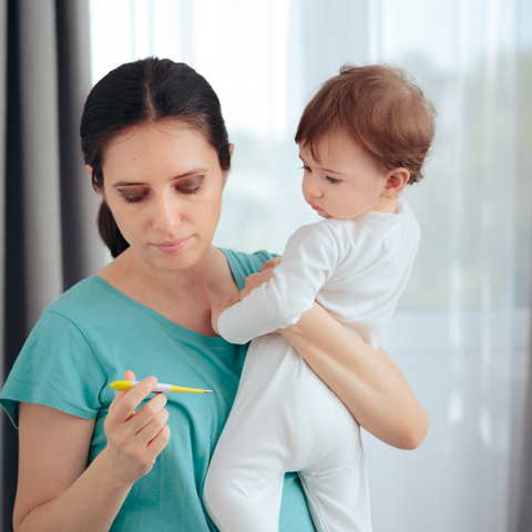 Should You Breastfeed When Your Baby is Sick
