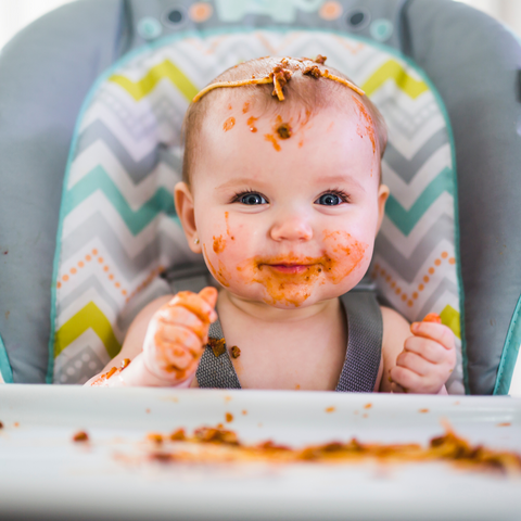 How to do baby led weaning from BeauGen on how to introduce new foods to your baby