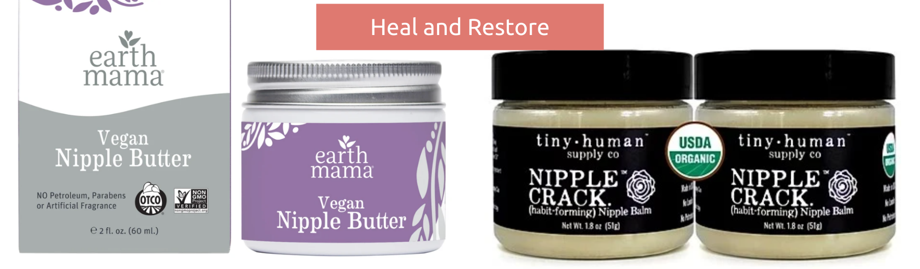 Heal and Restore Your Skin with Two Nipple Butters from BeauGen