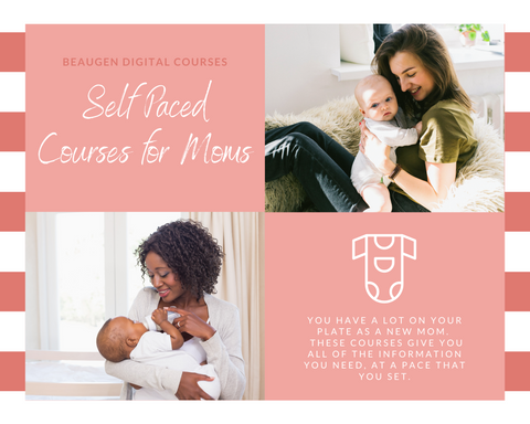 Digital Self Paced Courses for Breastfeeding and Pumping Moms from BeauGen