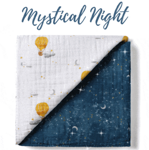 Shop Malabar Baby's Starry Night Collection and save 20% with the BeauGen Black Friday Gift Guide.