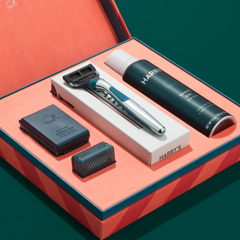 Give dad the gift of a smooth, pain free shave this holiday season.