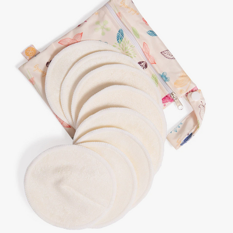 Say goodbye to leaks and uncomfortable scratchy nursing pads with the Kindred Bravely Organic Bamboo Nursing Pads