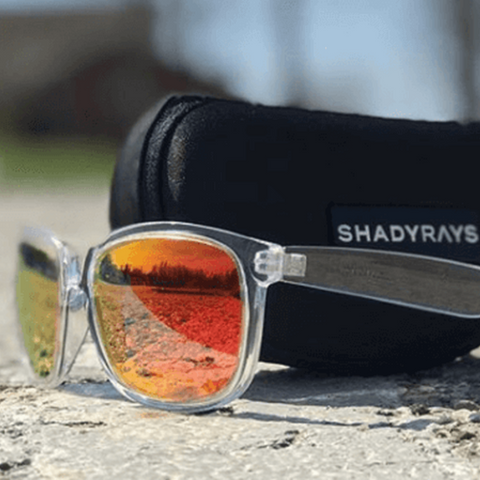 Don't worry about losing a pair of sunglasses again with Shady Rays Sunglasses