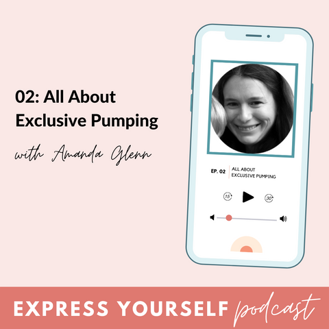 BeauGen Express Yourself Podcast Episode Two with Amanda Glenn of Exclusive Pumping