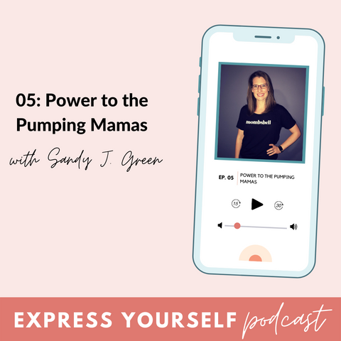 BeauGen Express Yourself Podcast Episode Five with Sandy Green of Empowered Pumping