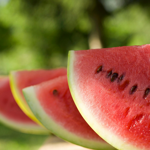Eat cool foods like watermellon to stay comfortable this summer while pregnant