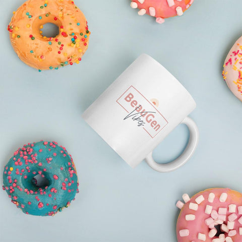 Start your day off with the perfect vibe, the BeauGen Vibes Coffee Mug.