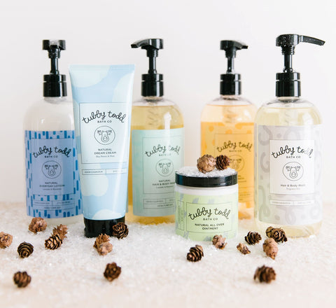 Nourish, Hydrate and Soothe Sensitive Skin for Less with Tubby Todd, available through BeauGen's Cyber Mom Day Gift Guide.