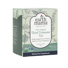 Load image into Gallery viewer, Help support your pregnancy with Third Trimester Tea from Earth Mama Organics. Now you can order this tea straight from BeauGen! This tea is 100% organic and tastes great!