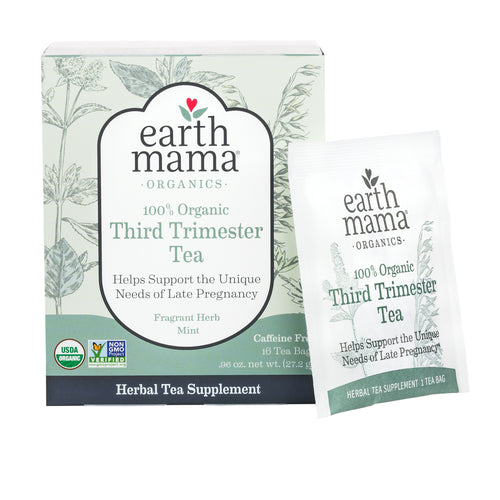 Help support your pregnancy with Third Trimester Tea from Earth Mama Organics. Now you can order this tea straight from BeauGen!
