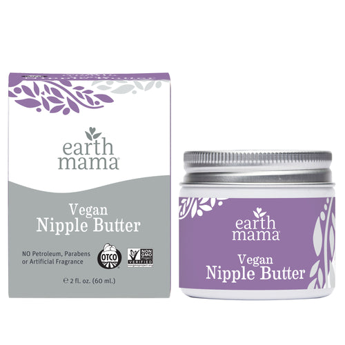 Get relief for your sore nipples with the Earth Mama Organics vegan nipple butter, now available through BeauGen.
