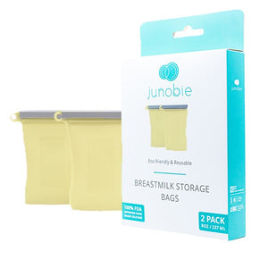 Reusable Breast Milk Storage Bags | The Everly by Junobie (2 pack)