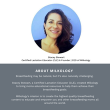 Load image into Gallery viewer, Get the ultimate breastfeeding class from BeauGen in Partnership with Milkology. This class is offered online and on demand so it fits your busy life. Learn more about Stacey from Milkology here.