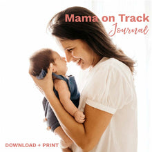 Load image into Gallery viewer, Mama On Track: Daily Mom Journal & Infant Tracker