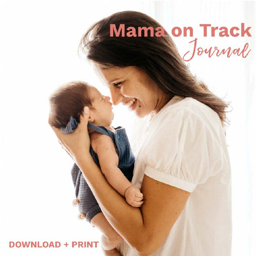 The Mama on Track Journal helps busy moms stay on track and not miss a moment. This digital download is instantly available and makes a great gift for the new moms in your life.