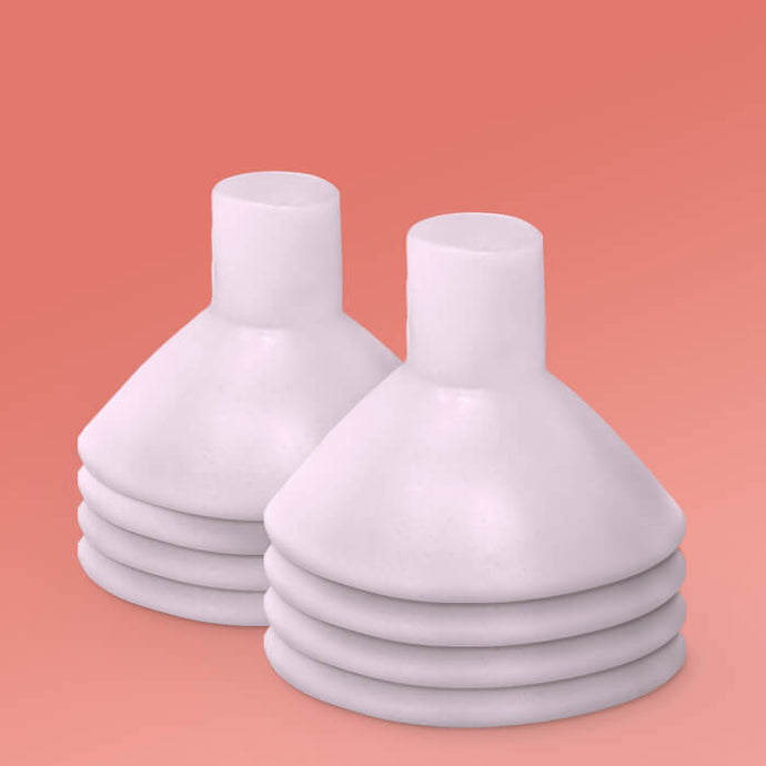 Breast Pump Cushion - 4 Pairs (for a desired flange fit of 19-27 mm)