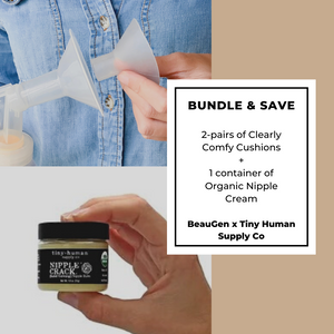 BUNDLE & SAVE: BeauGen Breast Pump Cushions + Organic Nipple Balm