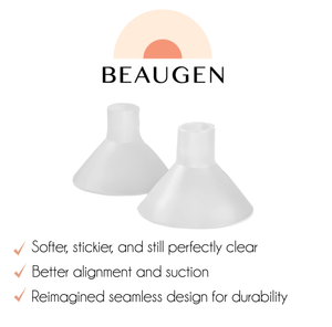 Bundle to save time, money, and pain at the pump with BeauGen! Get two pair of the pain relieving breast pump cushions and a jar of the Nipple Crack from Tiny Human when you purchase this bundle.