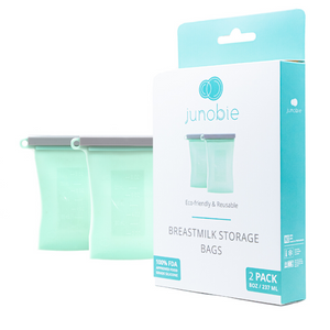 Reusable Breast Milk Storage Bags - The Journey by Junobie (2 pack)