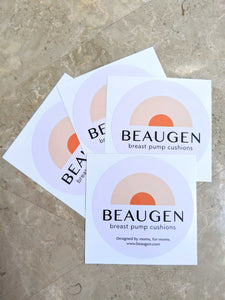 BeauGen Stickers - 4-Pack