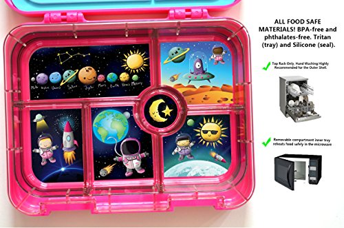 Kids-Leak-Resistant-FDA-BPA-Free-Lunchbox-With-6-big-Compartments miniature 13