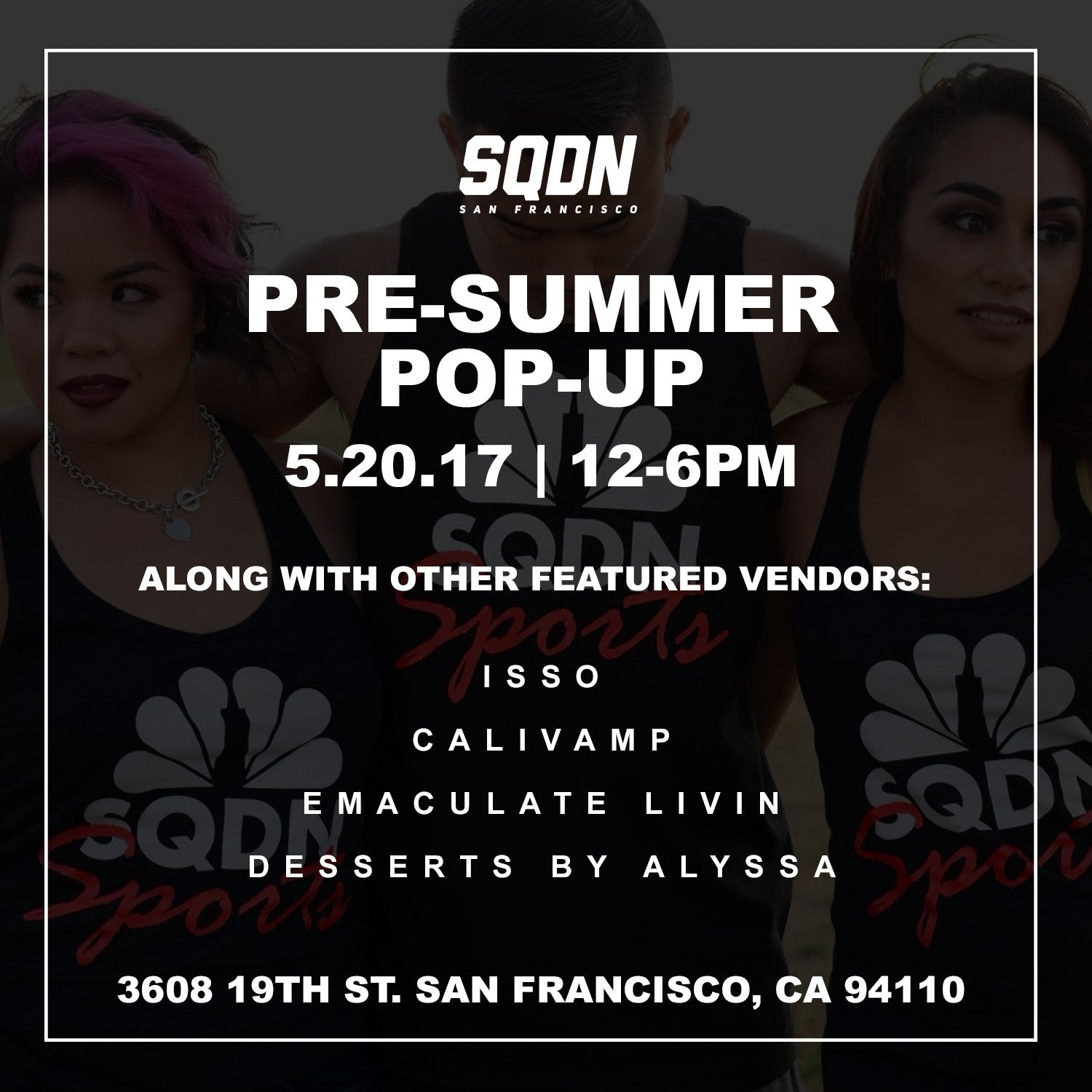 Pre-Summer Pop Up