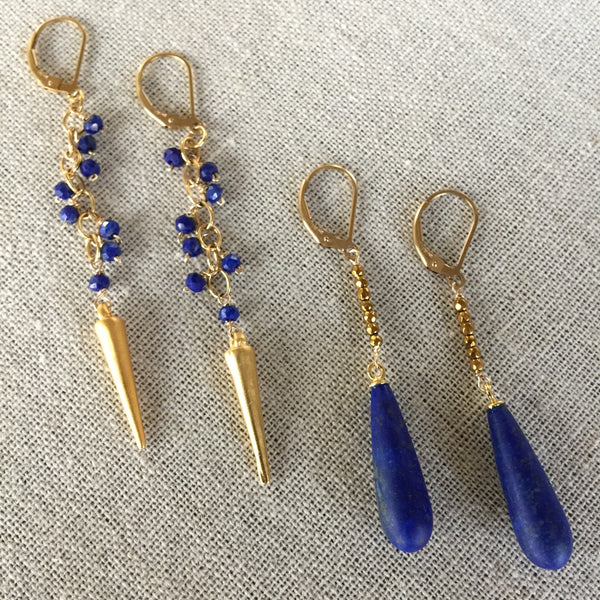 Santorini Earrings - Angela Arno Jewelry