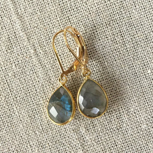 Labradorite Earrings - Angela Arno Jewelry