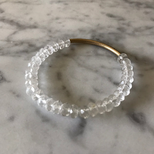 Clarity - Crystal Quartz Bracelet