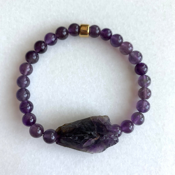The Amethyst Chill Bracelet - Angela Arno Jewelry