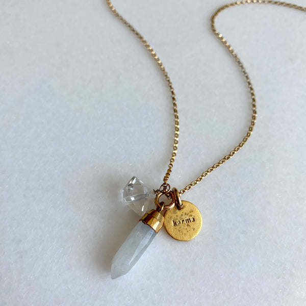 La Femme Talisman Necklace - Angela Arno Jewelry