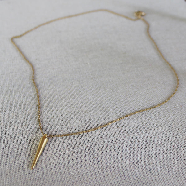 The Petite Spike Necklace