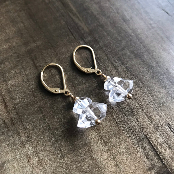 Diana Herkimer Diamond Earrings