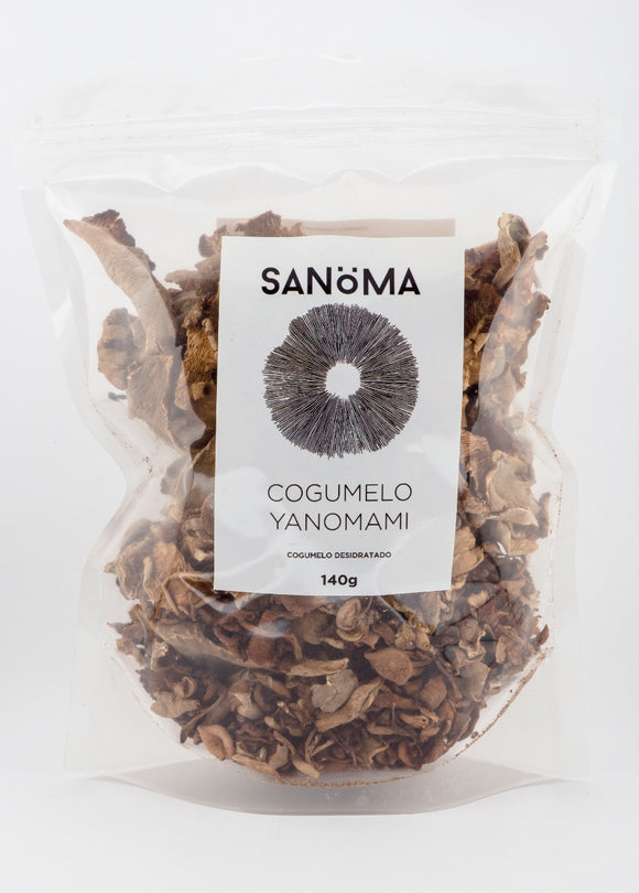 Dehydrated whole Sanöma Yanomami Mushrooms -140 gms
