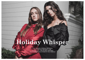 DECEMBER 2016- Holiday Whisper