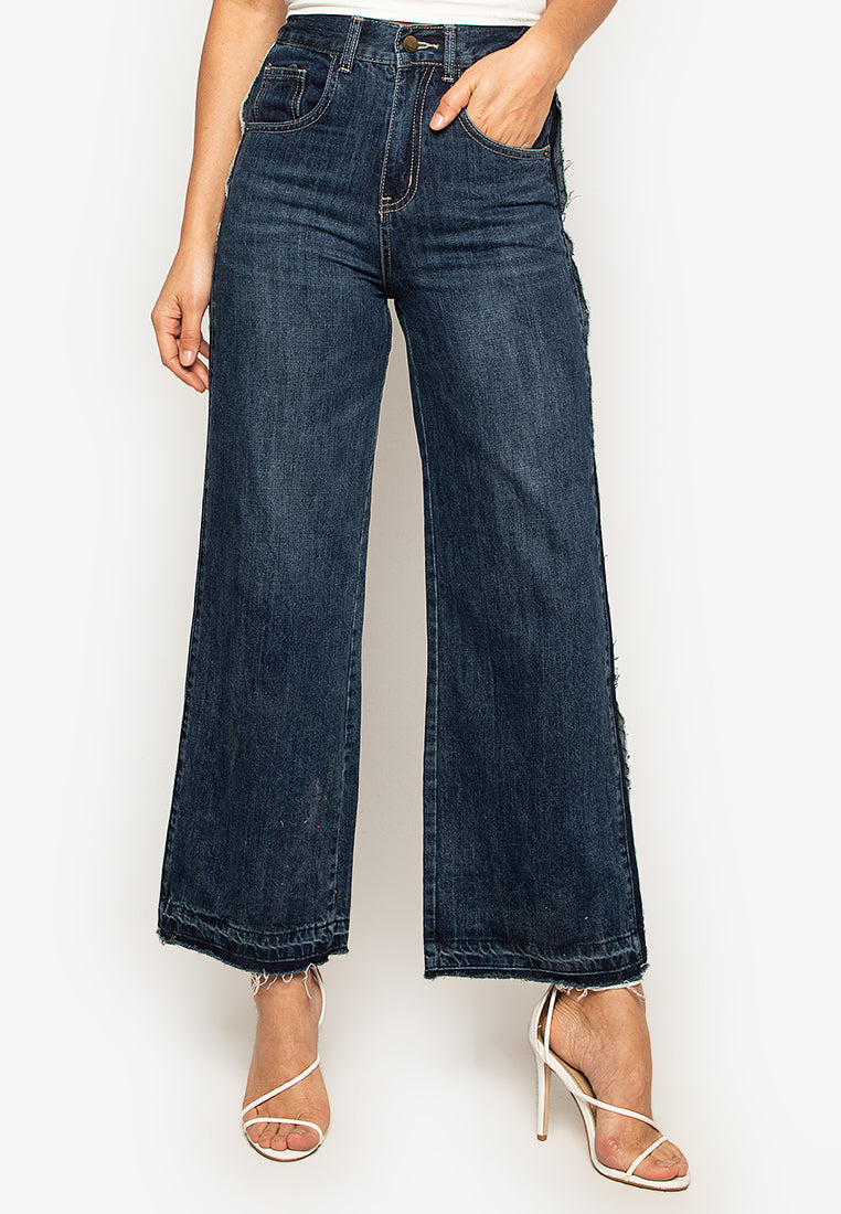 Glenda Wide Leg Denim