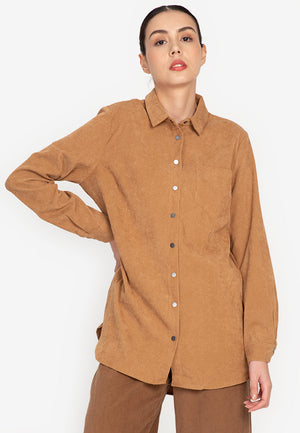 Dixon Corduroy Buttondown