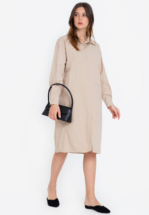 GELLA SHIRT DRESS