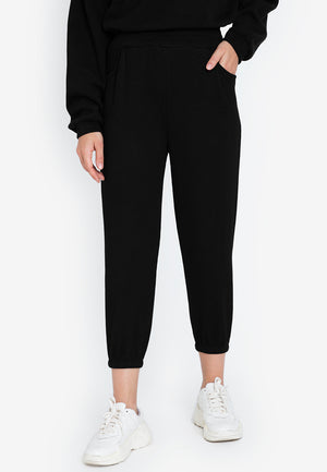JONI RIBBED JOGGER PANTS