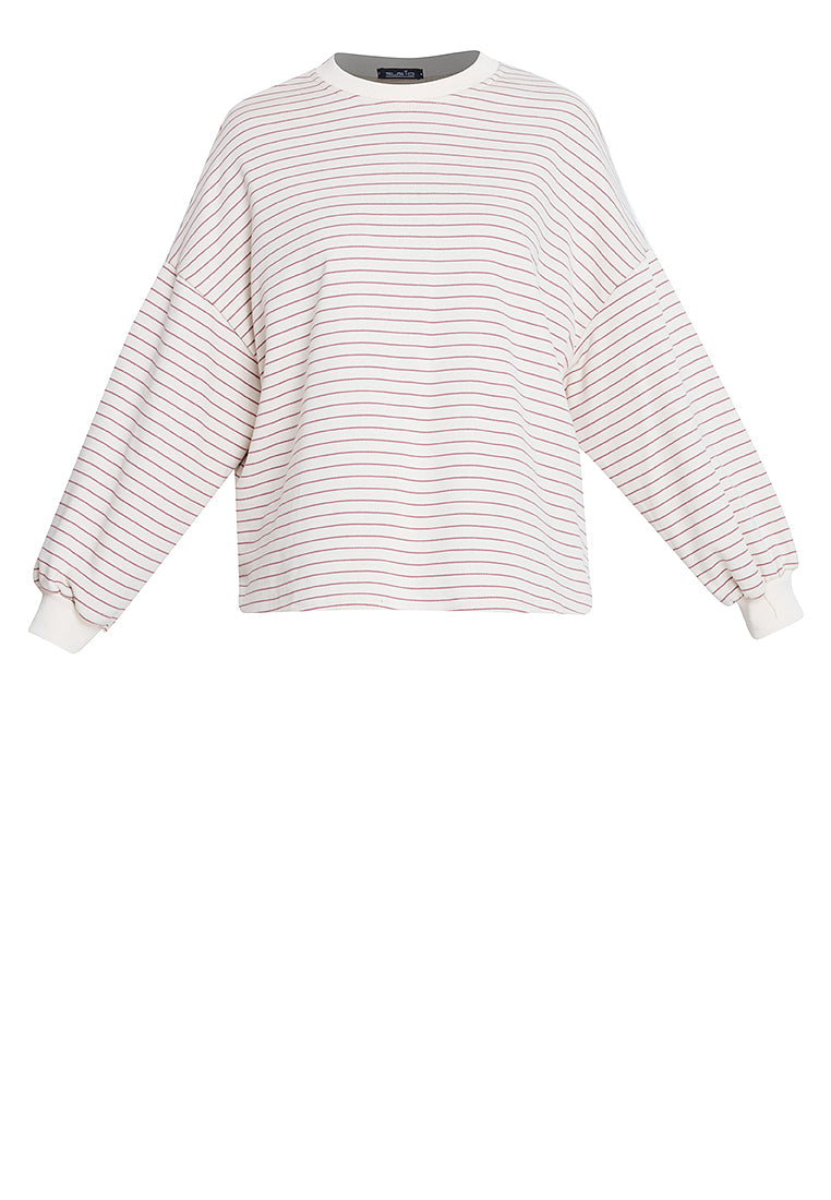 KRIS Striped Longsleeve Top