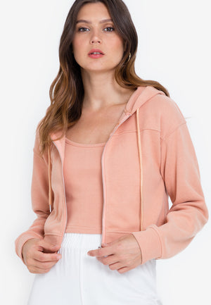 CARSEN Two-Piece Jacket & Cami Set