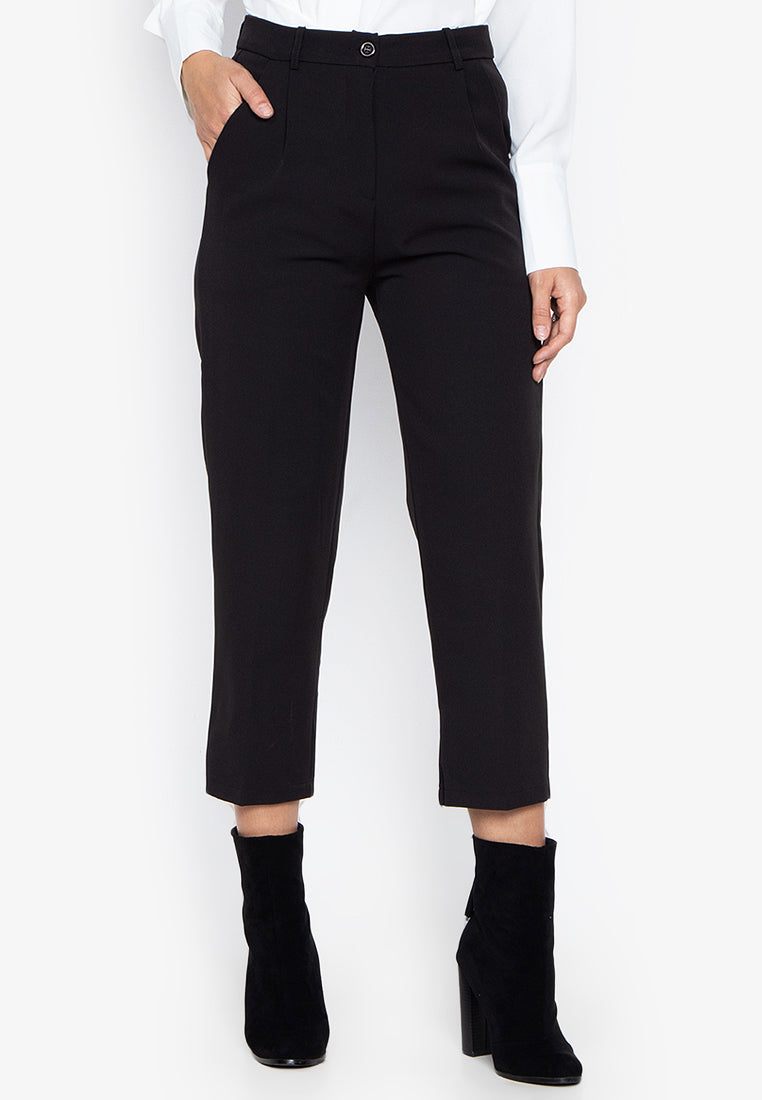 HARLEY TROUSERS- BLACK - Susto The Label